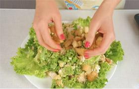 Salate ohne Kohlenhydrate