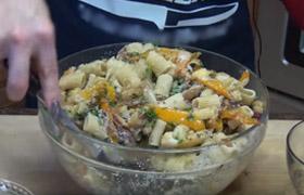 Vollkorn Rigatoni mit Gemüse