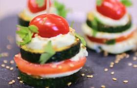 Zucchini Carppachio